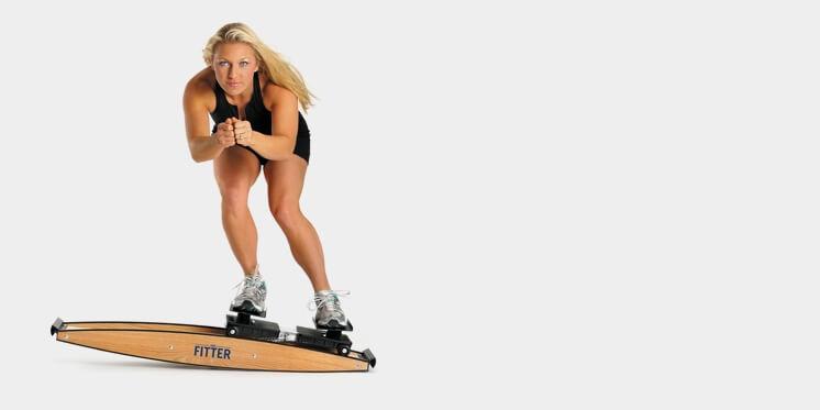 Kvinde på fitter