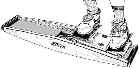 Fitter ski